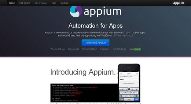 Mobile Testing Tools-Appium - Softwaretestingtools com