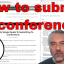 How to successfully submit to a Software Testing Conference – lessons learned the hard way