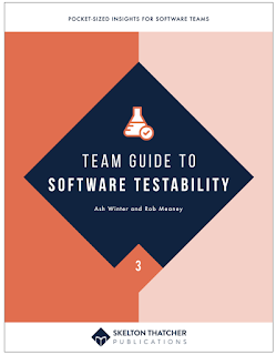 "Sponsoring a ""New"" Book? #30DaysOfTesting Testability"